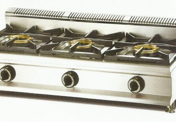 Cocina modular sobremesa a gas economica macql 3fh 3 for Cocinas economicas a gas