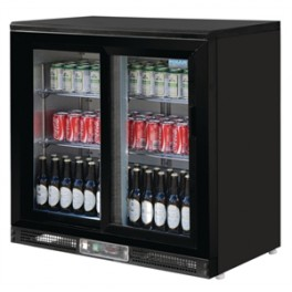 Armario expositor Polar 223 litros, armario refrigerado ideal para la exposición de refrescos y botellas en espacios de bares, pastelerías, restaurantes