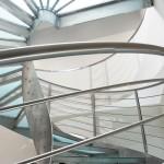 Escalera de caracol acero inoxidable