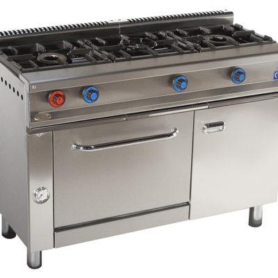 Cocina 3 fuegos IMEGASCM-613-H