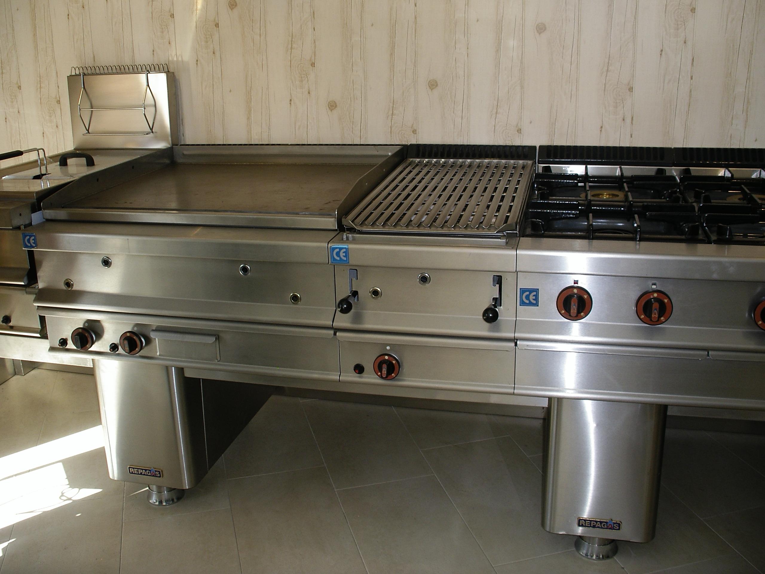 74 cocinas industriales repagas 5 maquinaria de for Cocinas repagas