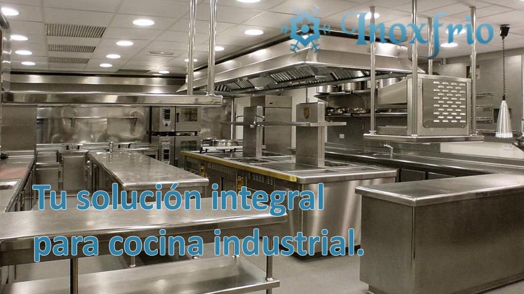 Tu soluci n integral para cocina industrial inoxfrio for Maquinas de cocina
