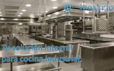 Tu solución integral para cocina industrial.