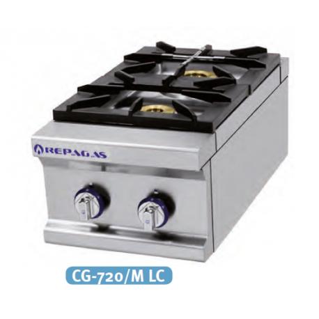 Cocina 2 fuegos a gas serie 750 inoxfrio for Outlet cocinas a gas